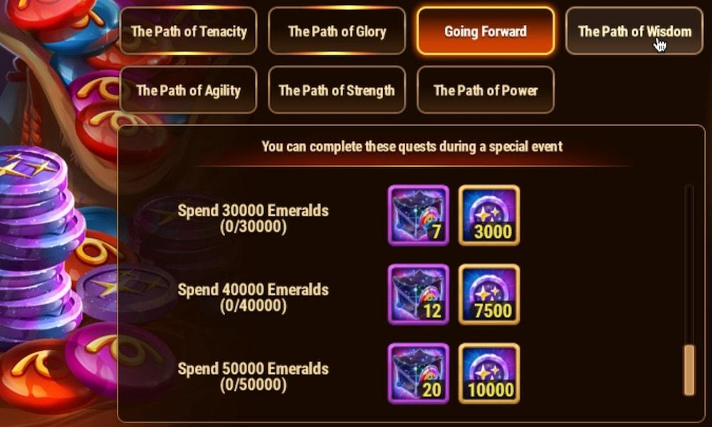 Hero Wars' skin event Going Forward